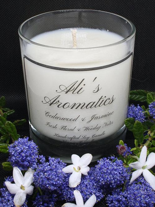 Cedarwood & Jasmine Soy Candle