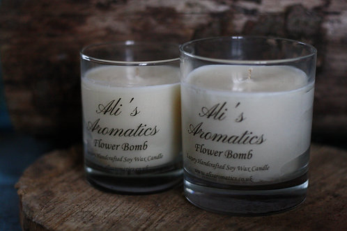 Flower Bomb Soy Wax Candle
