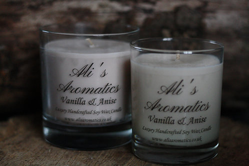 Vanilla & Anise Soy Wax Candle