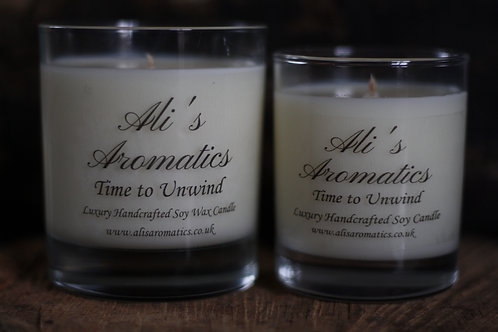 Time to Unwind Soy Wax Candle
