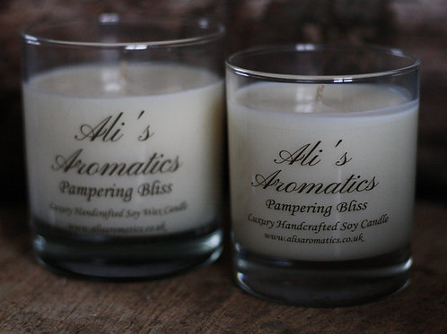 Pampering Bliss Soy Wax Candle