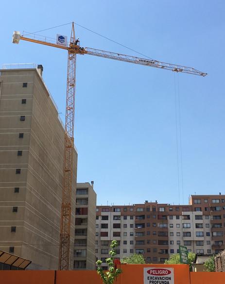 Grúas Cono Sur Proyecto Lira grúas torre 2