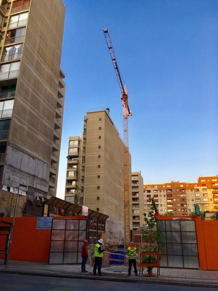 Grúas Cono Sur grúa torre Chile
