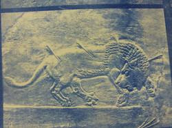 Assyrian Lion Hunt 04