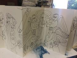 Derbyshire Churches Sketch Book 014