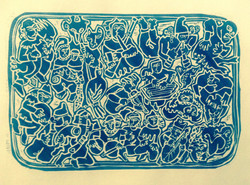 minstrels blue