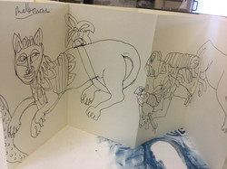 Derbyshire Churches Sketch Book 008