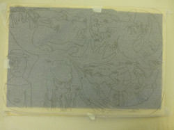 Woodcut Process Example 16