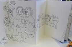 Anglo Saxon Sketch Book 011