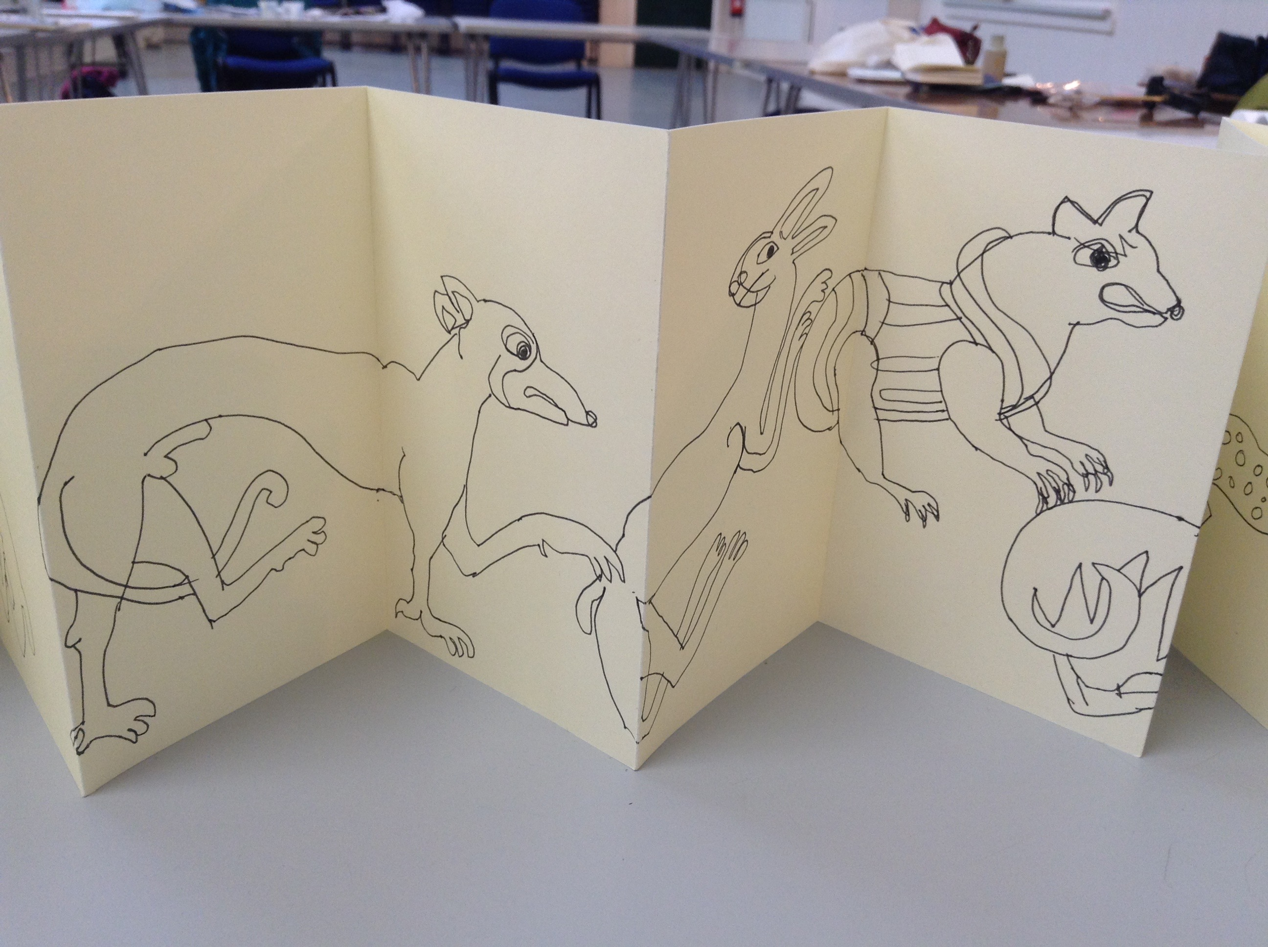 Kells Margins Sketch Book 004