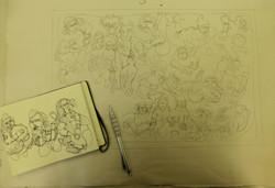 1 composing image from sketchbook
