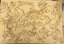 01 Kells Borders Drawing