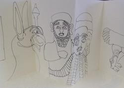 Assyrian Sketch Book 009