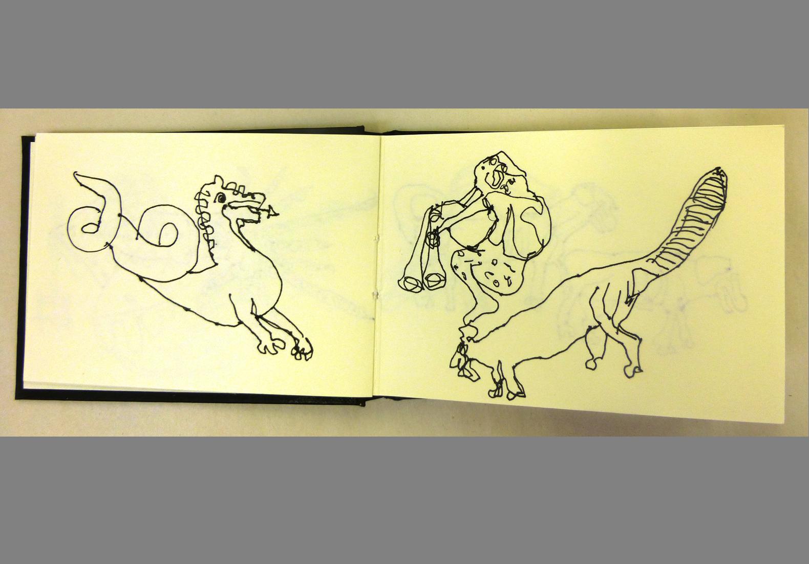 Concertina Sketchbook (4)