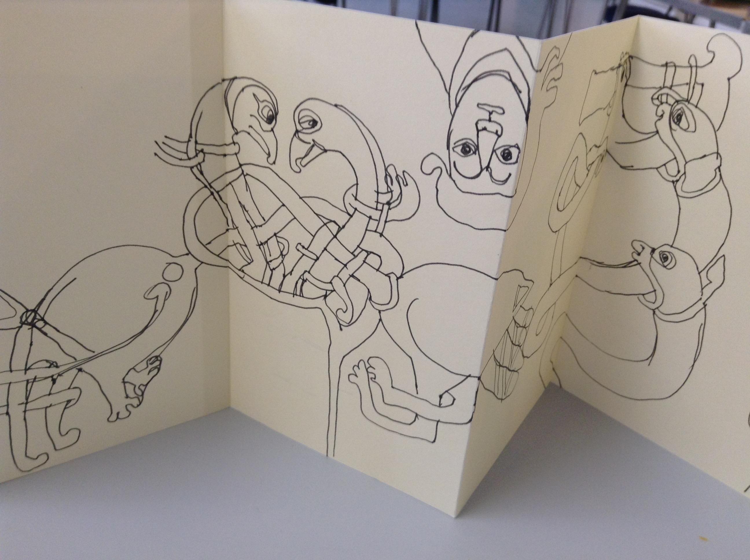 Kells Margins Sketch Book 011