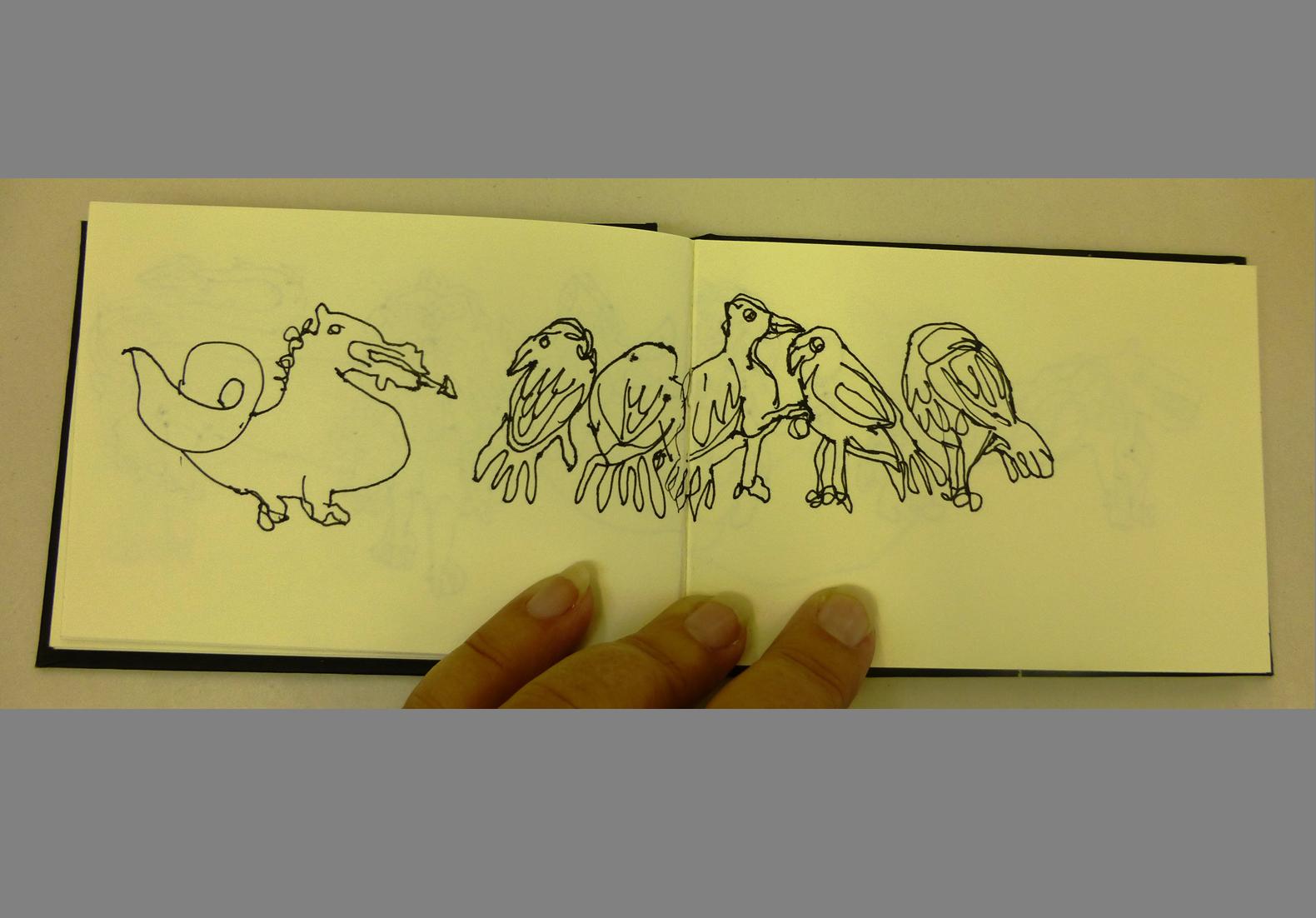 Concertina Sketchbook (6)