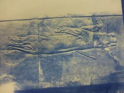Assyrian Lion Hunt 01