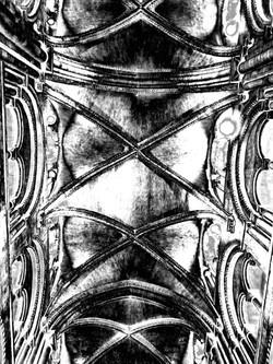 durham cathedral gum arabic print