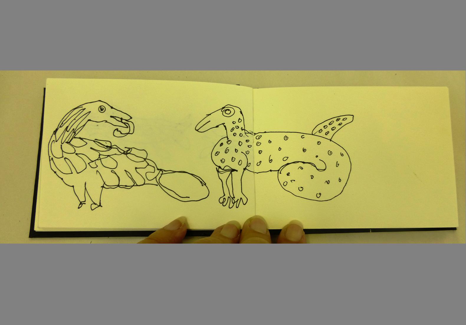 Concertina Sketchbook (8)