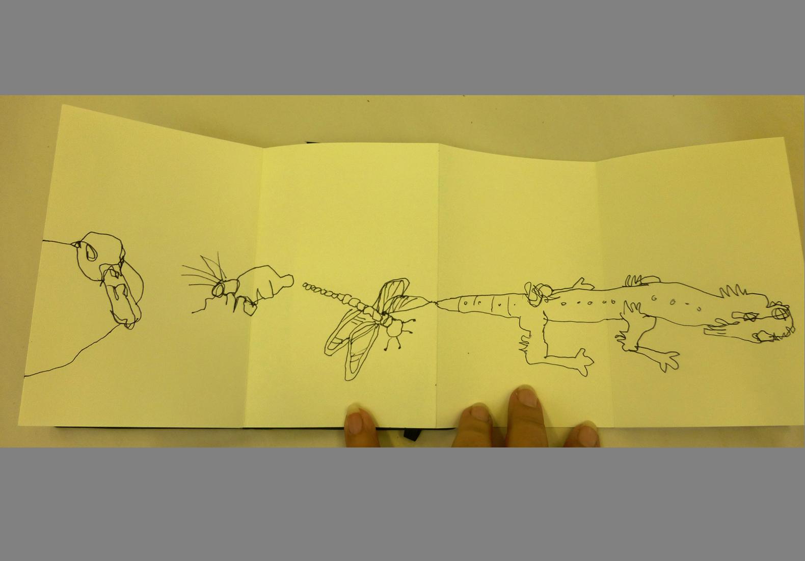 Concertina Sketchbook (11)