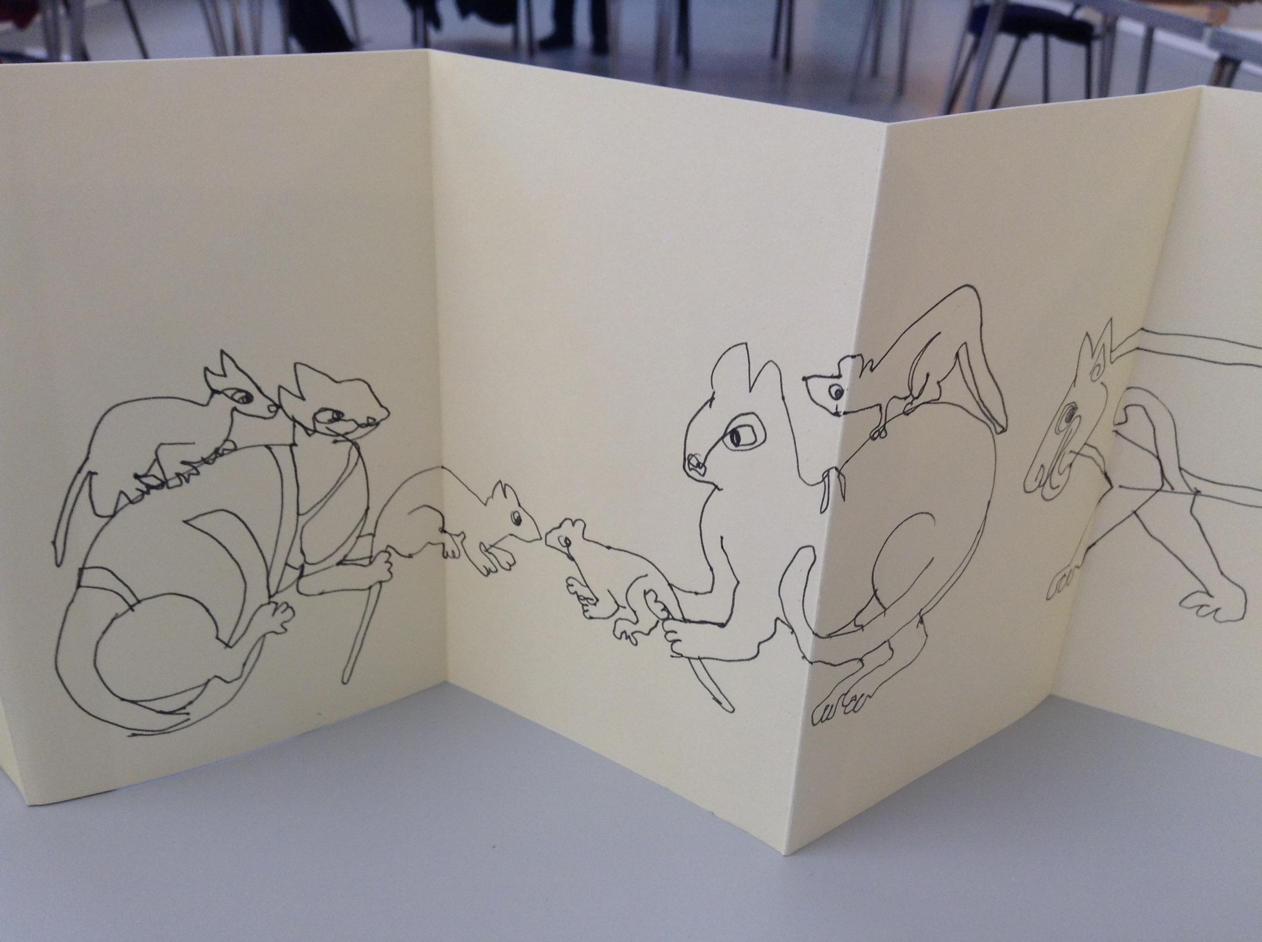 Kells Margins Sketch Book 013