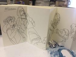 Derbyshire Churches Sketch Book 002