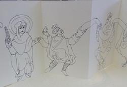 Anglo Saxon Sketch Book 008