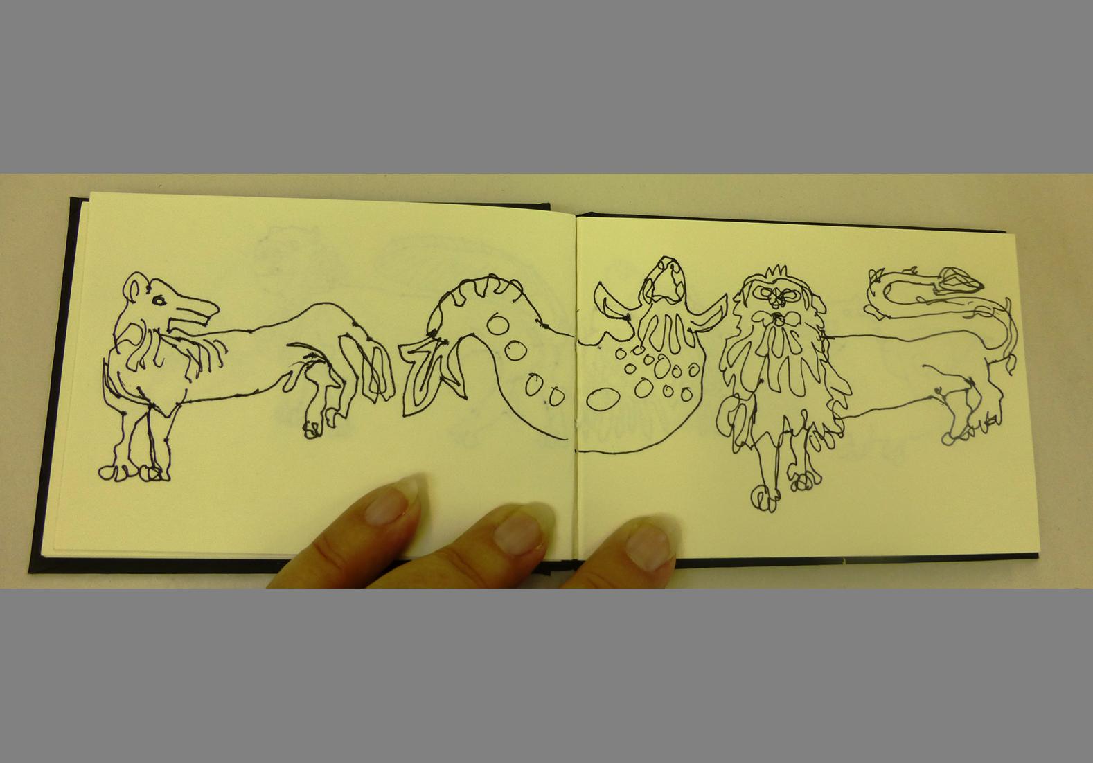 Concertina Sketchbook (5)