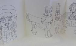Assyrian Sketch Book 008