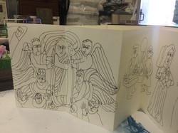 Derbyshire Churches Sketch Book 012