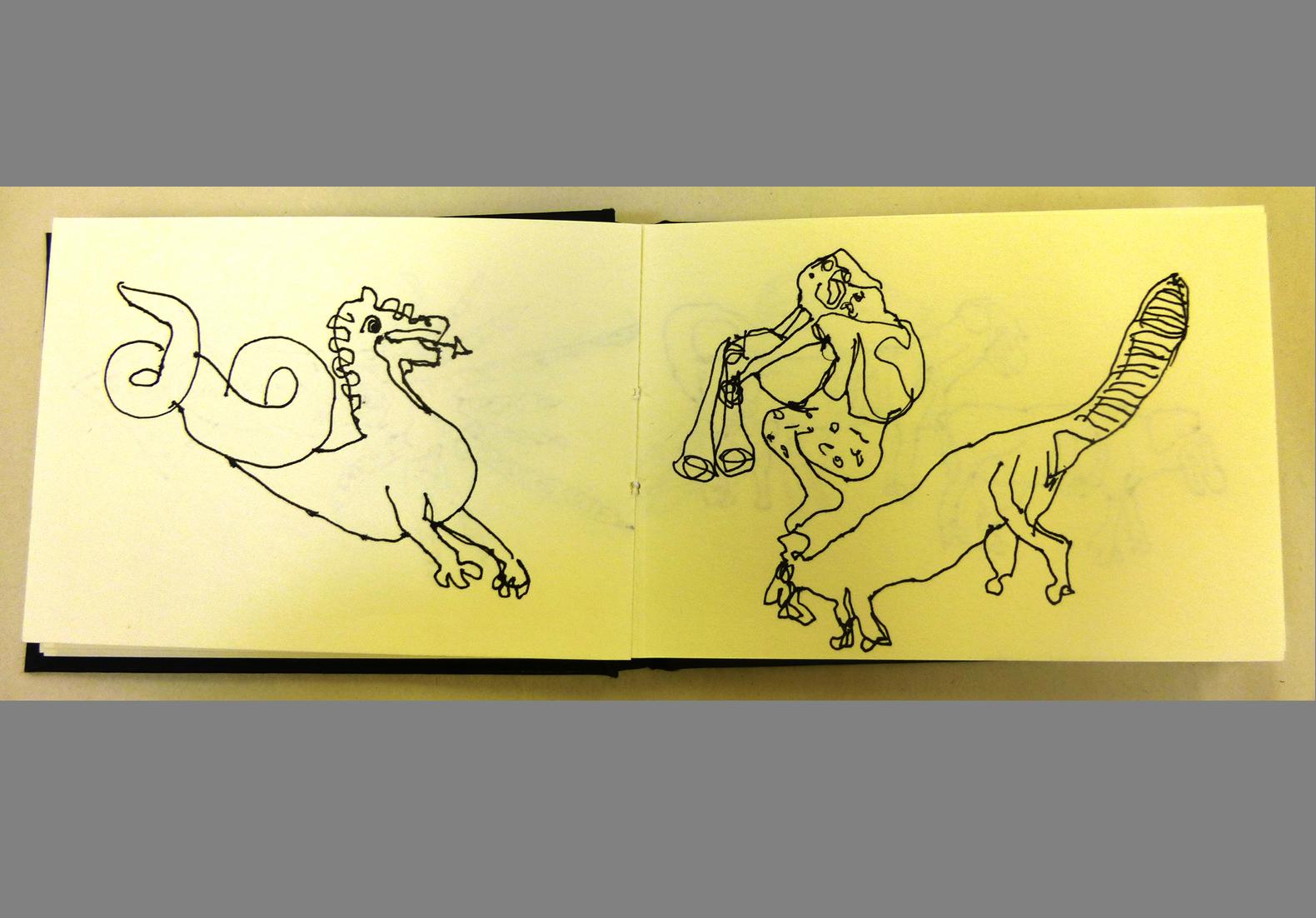Concertina Sketchbook (2)