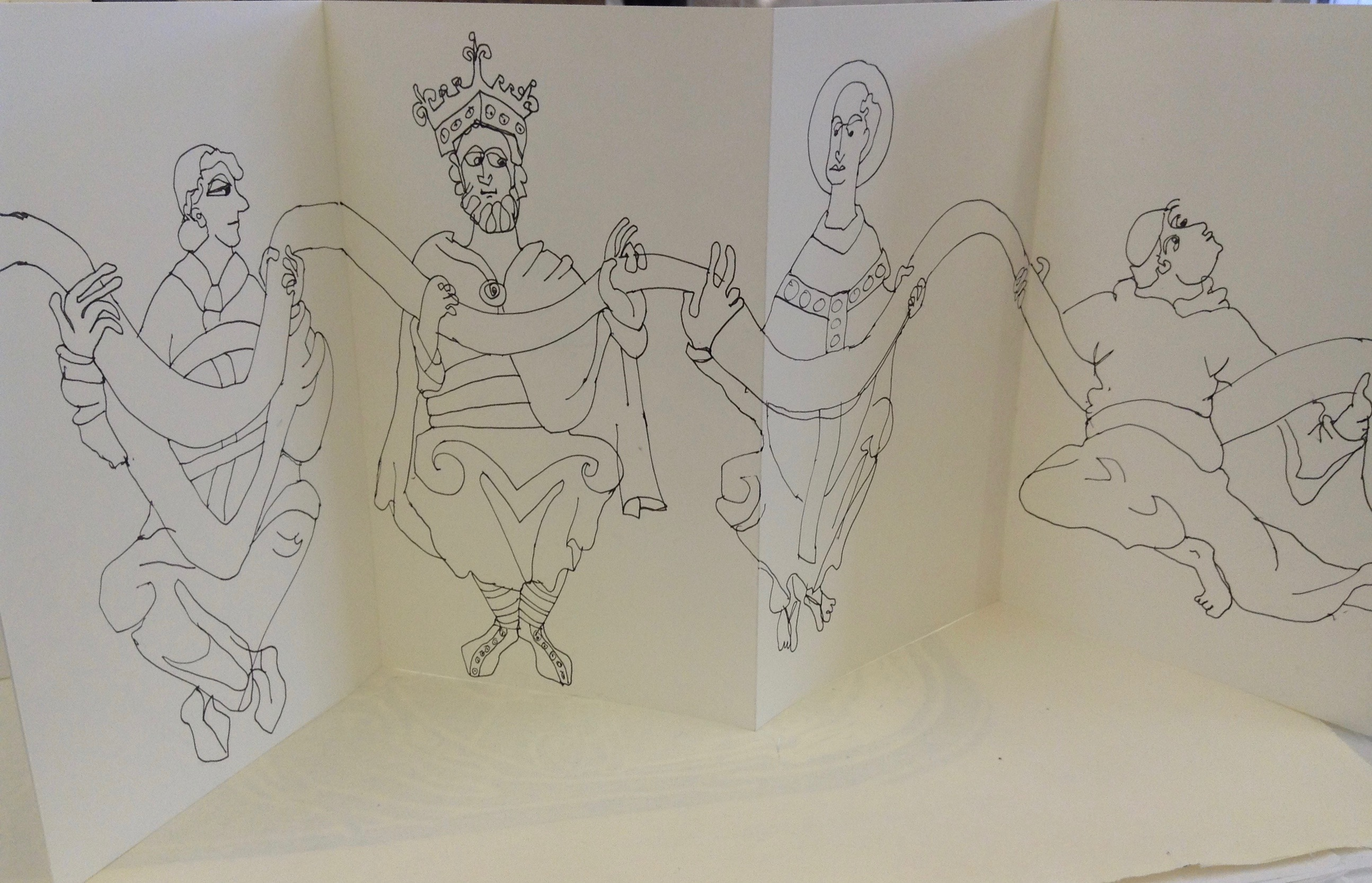 Anglo Saxon Sketch Book 007