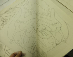 2 adjustments to drawing and tracing kilpeck