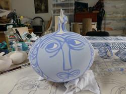 large pot 1 face