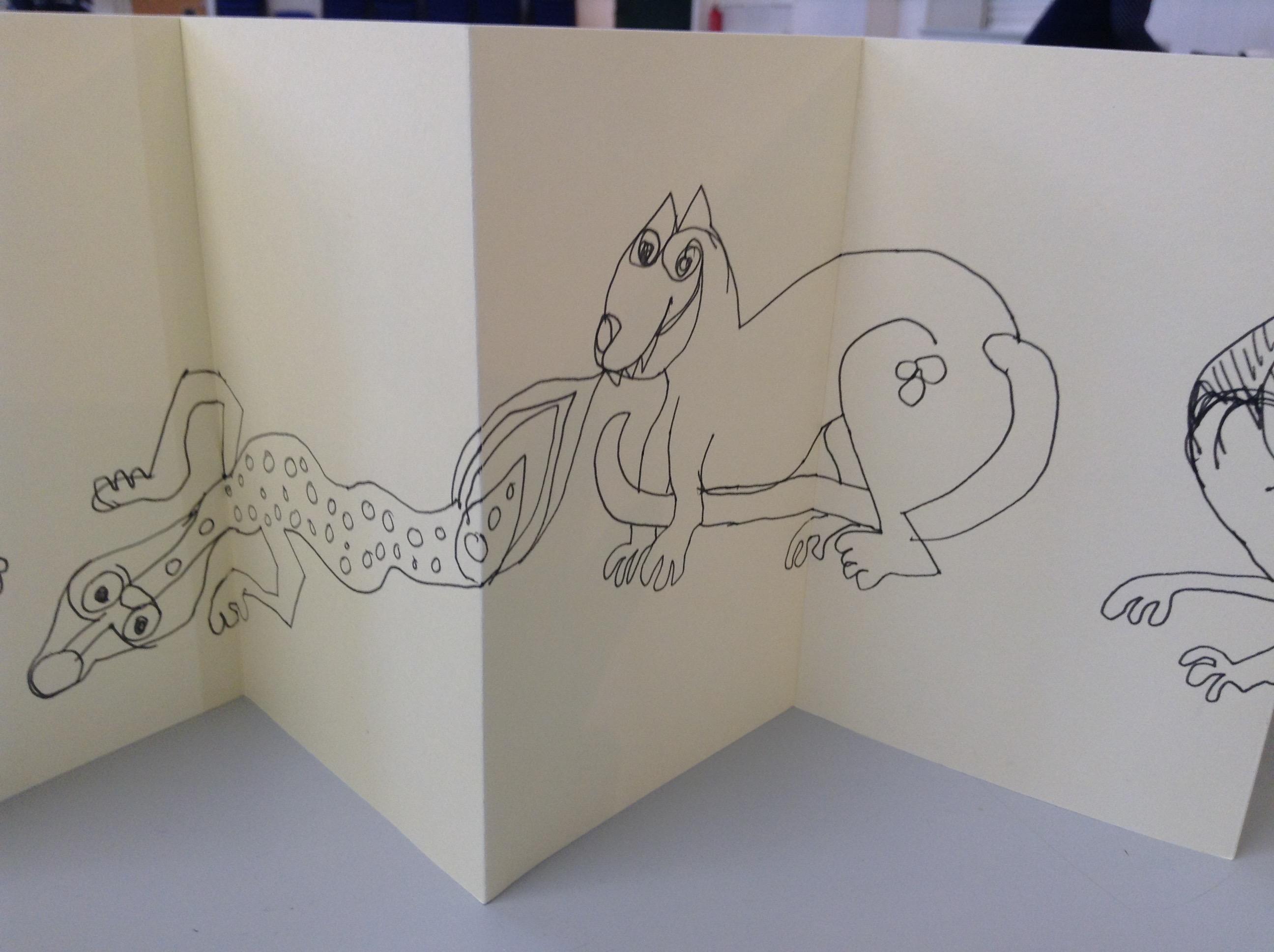 Kells Margins Sketch Book 002
