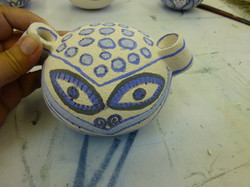 cheeky pot kiln ready