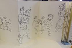 Anglo Saxon Sketch Book 004