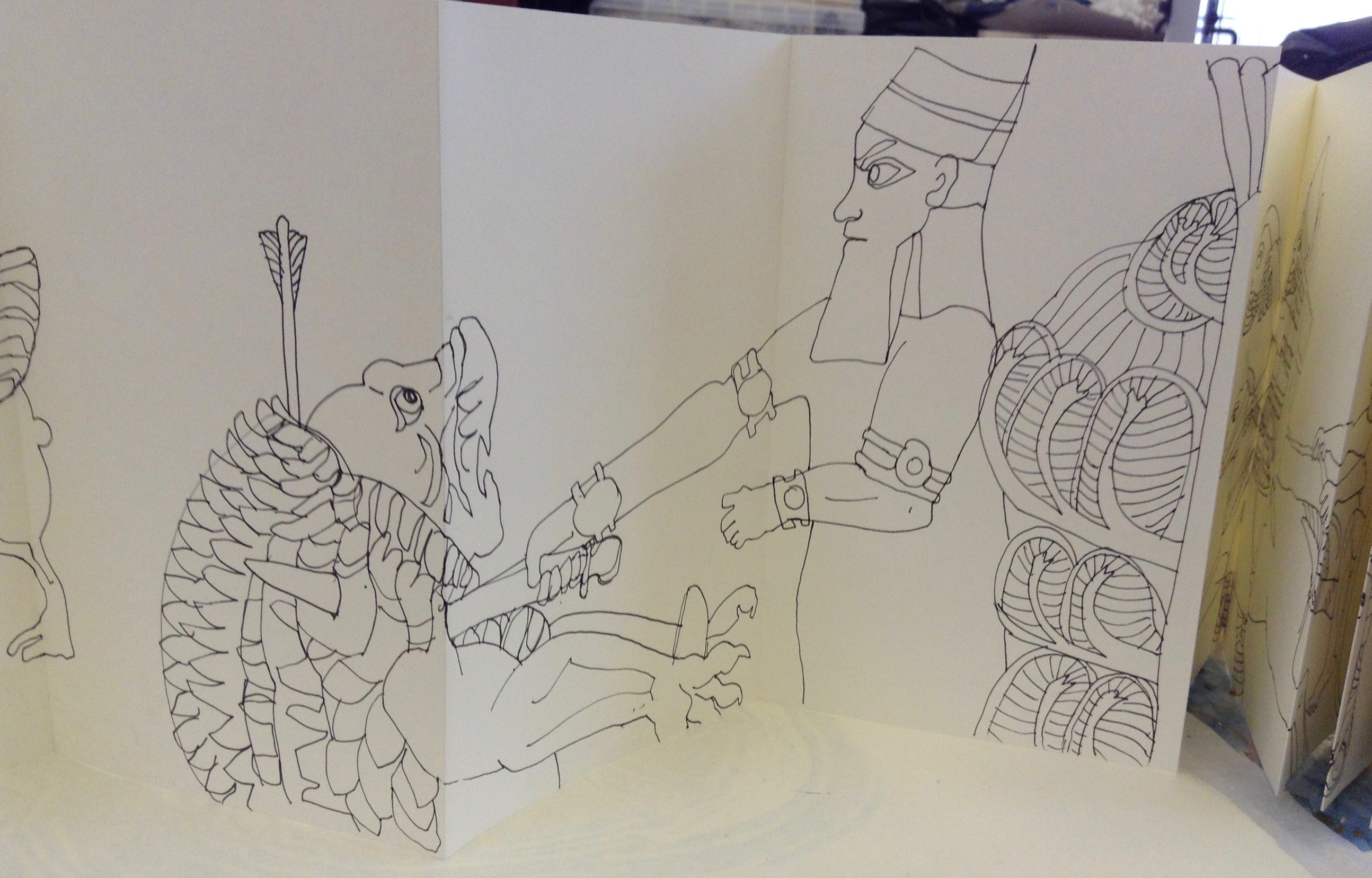 Assyrian Sketch Book 006
