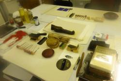 Studio Workshop Set Up