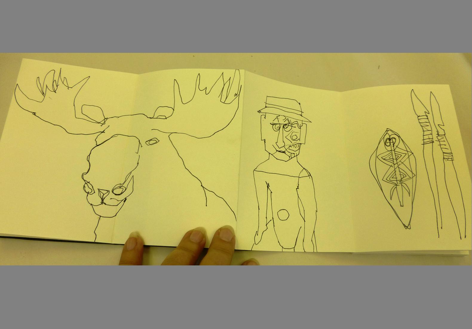 Concertina Sketchbook (12)