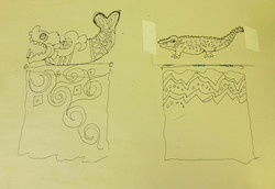 preliminary sketch 3