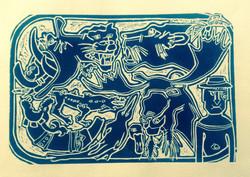 museum blue