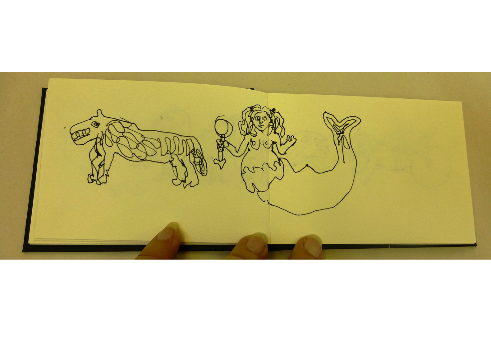 Concertina Sketchbook (7)