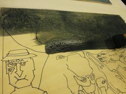 Woodcut Process Example 09