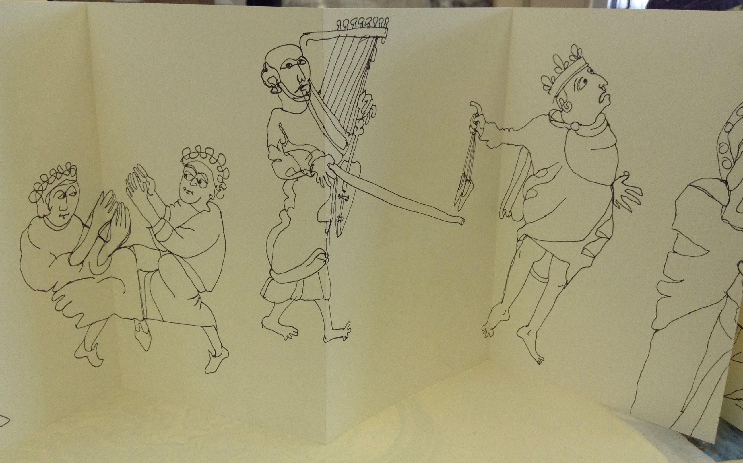 Anglo Saxon Sketch Book 003
