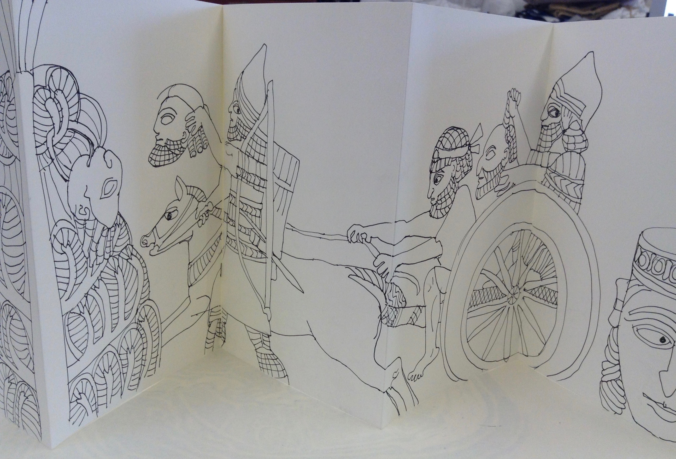 Assyrian Sketch Book 004
