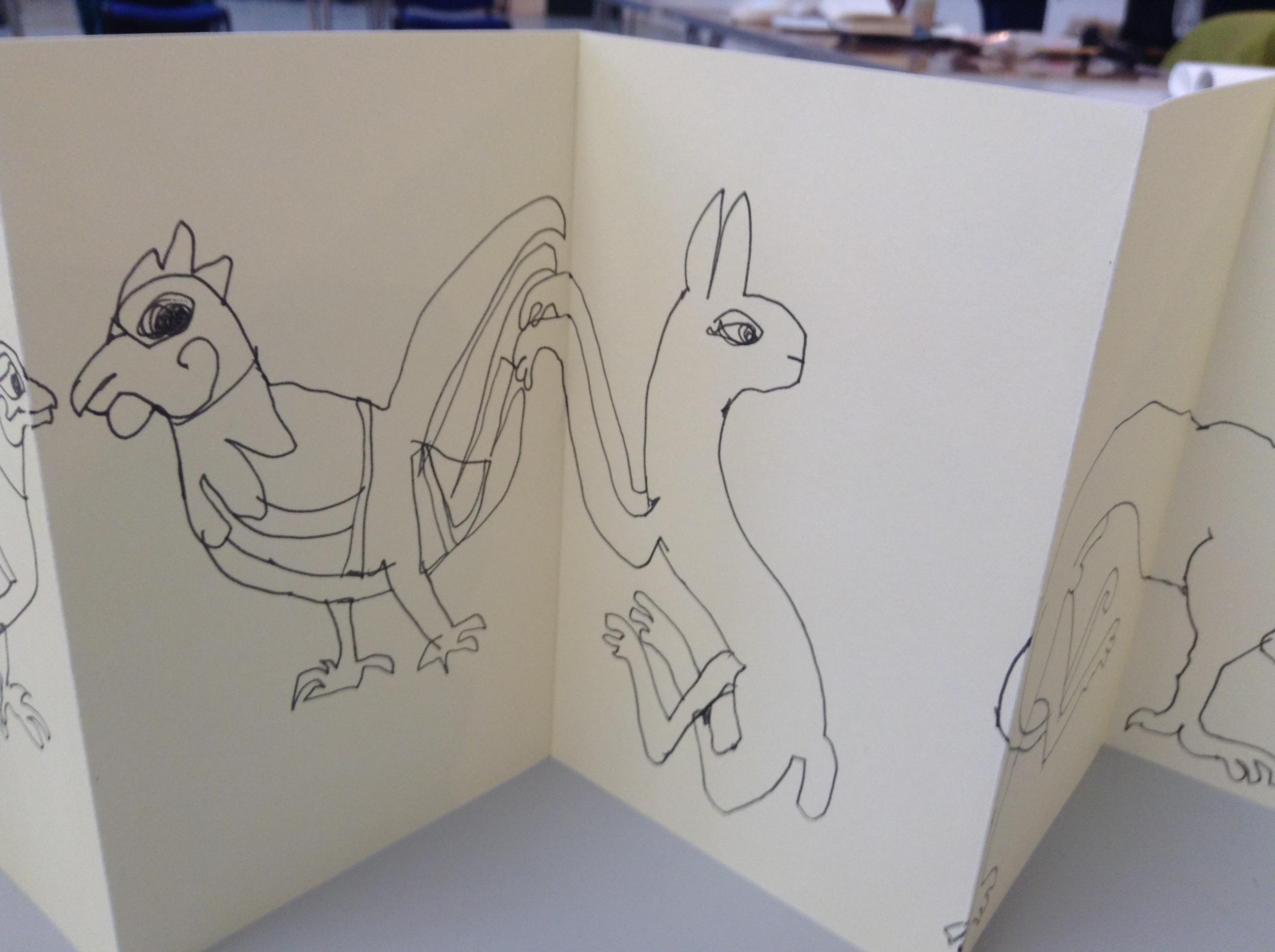 Kells Margins Sketch Book 005