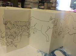 Derbyshire Churches Sketch Book 005