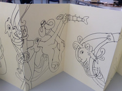 Kells Margins Sketch Book 009