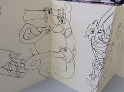 Kells Margins Sketch Book 010